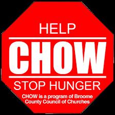 BIG I SOUTHERN TIER DONATES $1,000 TO CHOW FOOD BANK